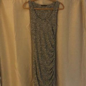Velvet silver body con super soft dress
